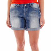 ZCO Lace Flap-Pocket Shorts - Plus
