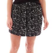 a.n.a® Soft Beach Shorts - Plus