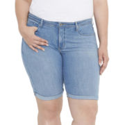 Levi's® 512™ Perfectly Shaping Bermuda Shorts - Plus