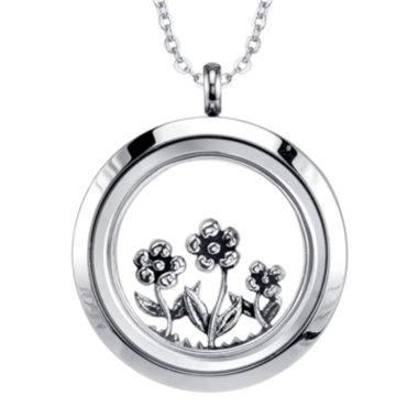 jcpenney.com | Footnotes Too® Friend Interchangeable Locket Pendant Necklace