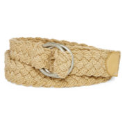 Relic® Khaki Braided D-Ring Belt