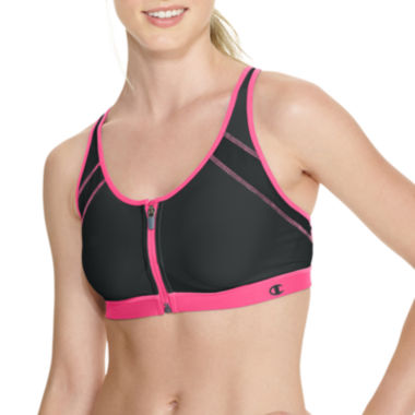 jcpenney.com | Champion® Zip-Front Sports Bra - 7920