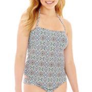 Arizona Print Bandeaukini Swim Top - Juniors