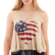 Ransom Girl™ Americana Graphic Tank Top