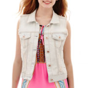Arizona Destructed Denim Vest