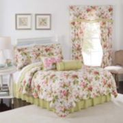 Waverly® Emma's Garden Reversible Qulit Set & Accessories