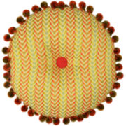 Waverly® Charismatic Honeysuckle Round Decorative Pillow
