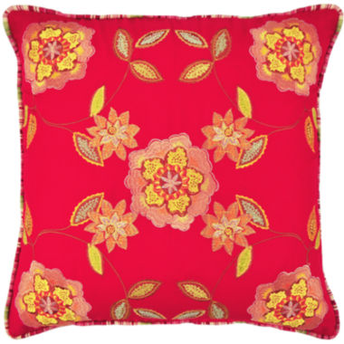 jcpenney.com | Waverly® Charismatic Honeysuckle Square  Decorative Pillow