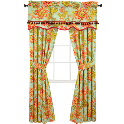 Waverly® Charismatic Honeysuckle 2-Pack Curtain Panels