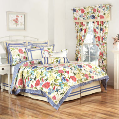 jcpenney.com | Waverly® Charmed 4-pc. Reversible Comforter Set
