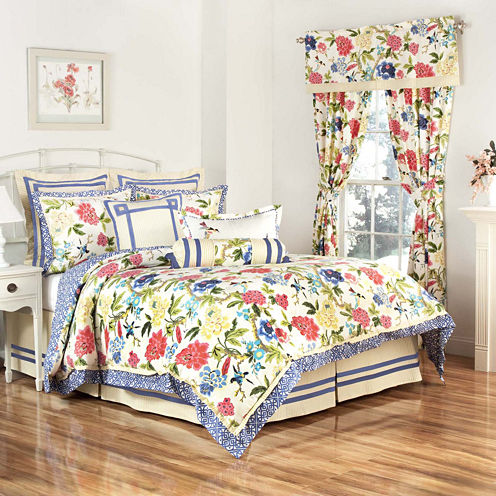 Waverly® Charmed 4-pc. Reversible Comforter Set