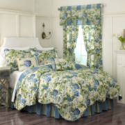 Waverly® Floral Flourish Reversible Qulit Set