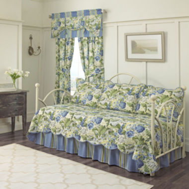 jcpenney.com | Waverly® Floral Flourish Reversible 5-pc. Daybed Cover Set & Accessories