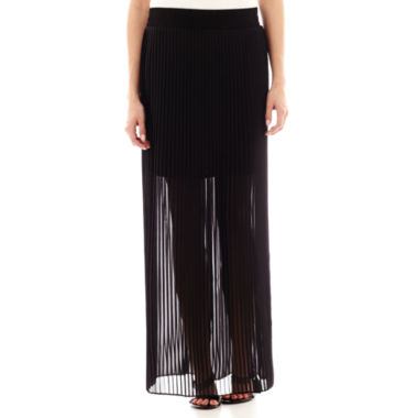 jcpenney.com | Worthington® Pleated Maxi Skirt - Petite