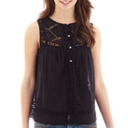 MNG by Mango® Crochet-Detail Tank Top