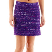Made For Life™ Print Mesh Skort - Petite
