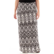 Arizona Foldover Maxi Skirt - Plus