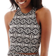 Decree® Bodycon Cropped Tank Top