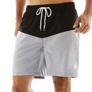 U.S. Polo Assn.® Colorblock Swim Trunks