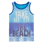 Arizona Sleeveless Print Tank Top – Boys 8-20