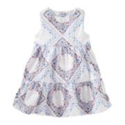 OshKosh B'gosh® Sleeveless Floral-Print Dress - Baby Girls newborn-24m