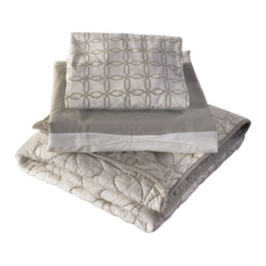 jcpenney.com | Lolli Living Comforter, Fitted Sheet & Bed Skirt - Gray