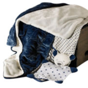 Lolli Living 3-pk. Blankets - Navy