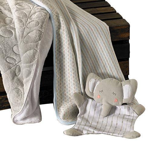 Lolli Living 3-pk. Blankets – Blue/Gray