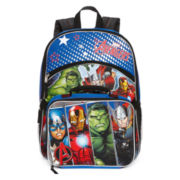 Avengers Backpack with Lunchkit - Boys