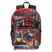 DC Comics Batman Vs. Superman Backpack with Lunchkit - Boys