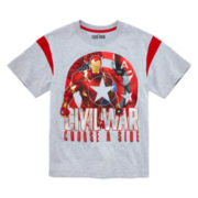 Marvel® Short-Sleeve Captain America Civil War Tee - Boys 8-20