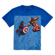 Marvel® Short-Sleeve Character Battle Graphic Tee - Boys 8-20