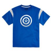 Marvel® Short-Sleeve Captain America Shield Tee - Boys 8-20