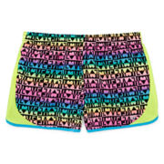 Xersion™ Printed Running Shorts - Girls 7-16 and Plus