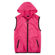 Reebok® Pop Windbreaker Vest - Girls 7-16