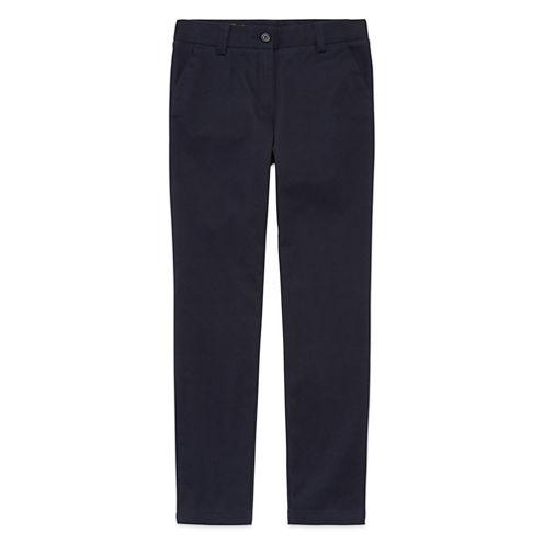 IZOD® Stretch Twill Regular Fit Skinny Pants - Girls 7-16 and Slim