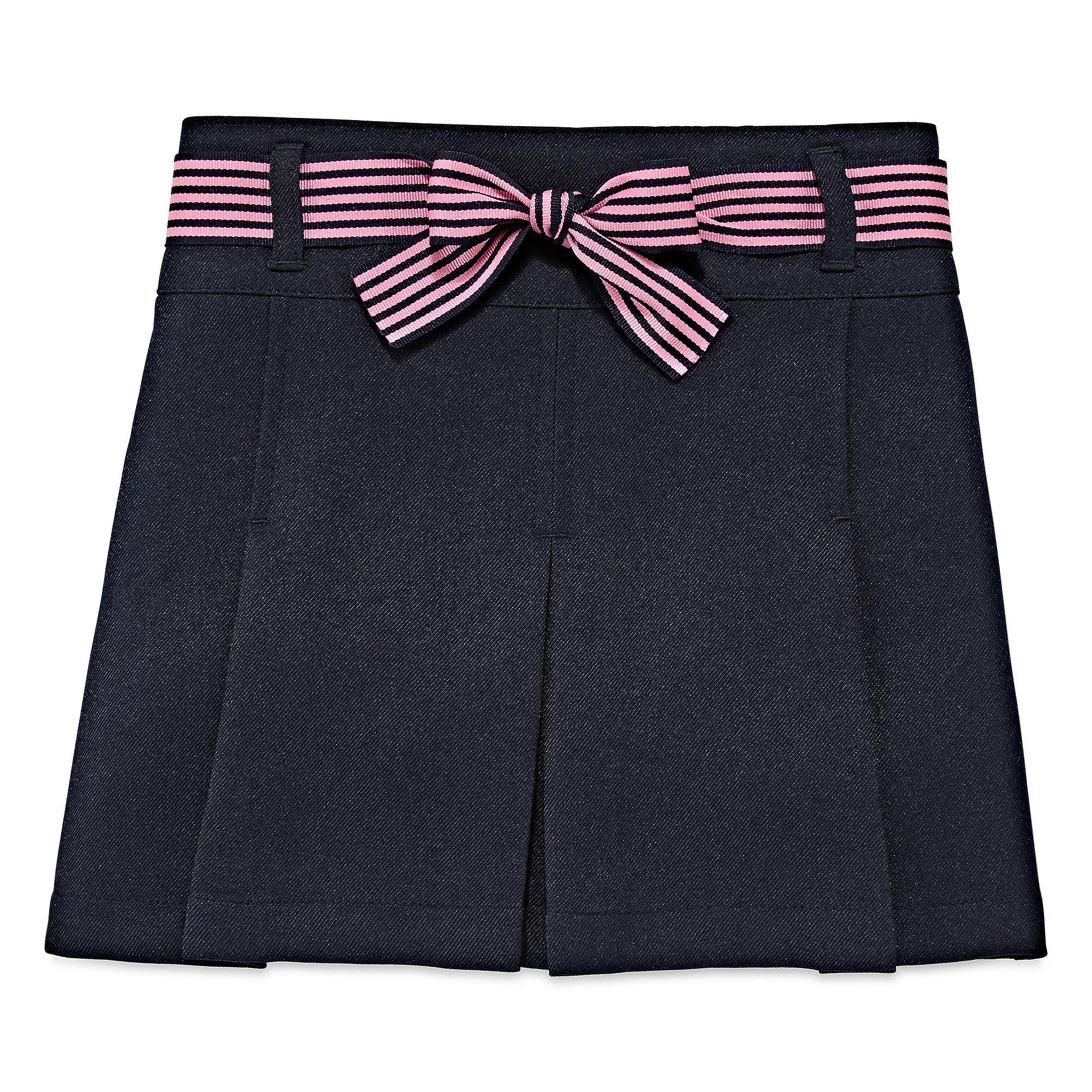 IZOD Ribbon-Belted Scooter Skirt - Preschool Girls 4-6x plus size,  plus size fashion plus size appare