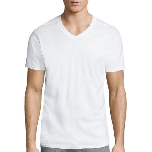 Gildan® 4-Pk. Platinum Short-Sleeve V-Neck T-Shirts