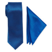 U.S. Polo Assn.® Mini Neat Tie and Pocket Square Set