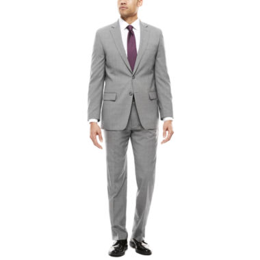 jcpenney.com | Claiborne Plaid Suit Separates-Classic Fit
