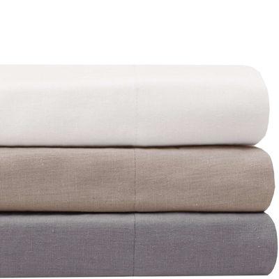 Madison Park Signature Cotton Linen Sheet Set