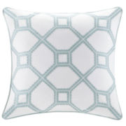 Harbor House Flourish Square Decorative Pillow