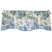 Waverly® Floral Engagement Rod-Pocket Lined Valance