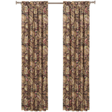 jcpenney.com | Queen Street® Catherine 2-Pack Rod-Pocket Lined Curtain Panels