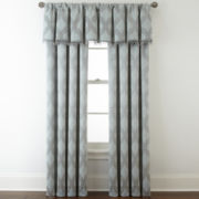 Royal Velvet® Allure Room-Darkening Rod-Pocket/Back-Tab Window Treatments