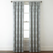 Royal Velvet® Allure Blackout Rod-Pocket/Back-Tab Curtain Panel