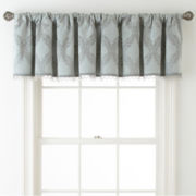 Royal Velvet® Allure Blackout Rod-Pocket/Back-Tab Tailored Valance
