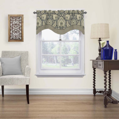 jcpenney.com | Clifton Hall Rod-Pocket Scalloped Valance
