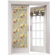 Sanctuary Rose Rod-Pocket Door Panel