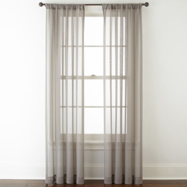 jcpenney.com | Studio™ Kramer Rod-Pocket Sheer Curtain Panel